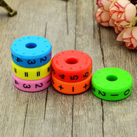 6 Pieces Magnetic Montessori Toys Early Learning Educational Toys For Children Math Business Numbers DIY Assembling Puzzles