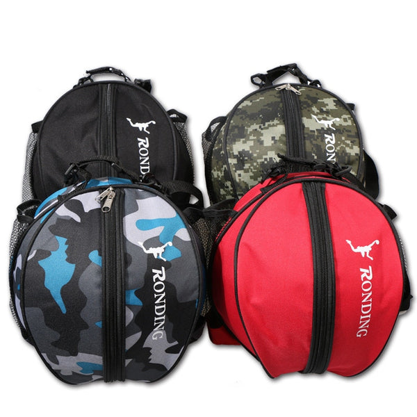 Volleyball Football Basketball Storage Bag Mesh Side One Shoulder Fitness Bag Soccer Ball Bags Outdoor Bag Training Equipment