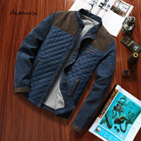 DIMUSI Autumn Mens Jacket Casual Mens Slim Fit Windbreaker Jackets Male Fashion Streetwear Anorak Baseball Jackets Clothing 5XL