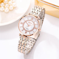 Women Watches Top Brand Luxury 2020 Fashion Diamond Ladies Wristwatches Stainless Steel Silver Mesh Strap Female Quartz Watch
