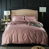 Svetanya Nordic silkly Egyptian Cotton Linens Twin Queen King Size Fitted Sheet Bedding Set Family Set Duvet Cover Set