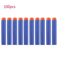 100pcs Foam For Nerf Bullets EVA Soft Head 7.2cm Refill Bullet Darts for Nerf Toy Gun Accessories for Nerf Blasters
