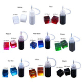 Liquid Epoxy Resin Colorant Highly Concentrated Resin Pigments Jewelry Making