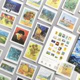 50Pcs/Pack Fog Forest Sticker Diary Decorative Sticker DIY Label Stationery Deco Photograph Album Sticker Flake Scrapbooking
