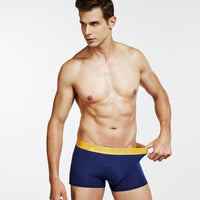7PCS/Lot  Men Panties Shorts Underwear Boxer Shorts Men's sexy underwear High quality men's underwear Pouch
