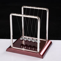 Newton's Cradle Physics Science Pendulum Educational Juguetes Kids Toys Children Metal Balance Ball Antistress Games Toy Desk