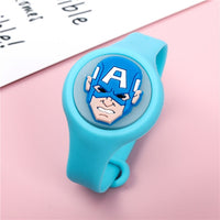 Original Marvel Avengers wristband Anime Cartoon Disney Toy Captain America Hulk Iron Man Spider Man Kid Birthday Gift