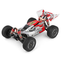 WLtoys 144001 2.4G Racing Remote Control Car Competition 60 km/h Metal Chassis 4wd Electric RC Formula Car for Christmas Gift