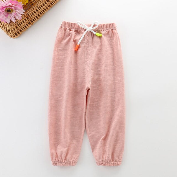 HIPAC 10% OFF Discount Children's Pants Jeans Spring Summer Infant Pants for Boys Girls Lantern Pants Baby Casual Trousers