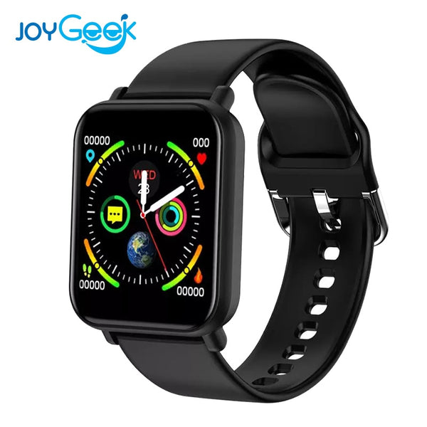 Sport Smart Watch For Men Bluetooth Men Blood Pressure Round Smartwatch Women Watch Waterproof Sport Tracker WhatsApp