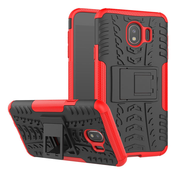 Armor Hard PC Silicone Cover For Samsung Galaxy J4 J6 J8 S9 S8 Plus A3 A5 A7 2017 J3 J5 J7 J2 Prime 2016 A6 A8 2018 Note 8 Case
