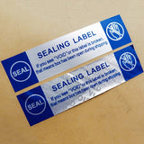 100PCS/pack English Security Seal Tamper Proof Void Security Warranty Stickers Tag Supplies