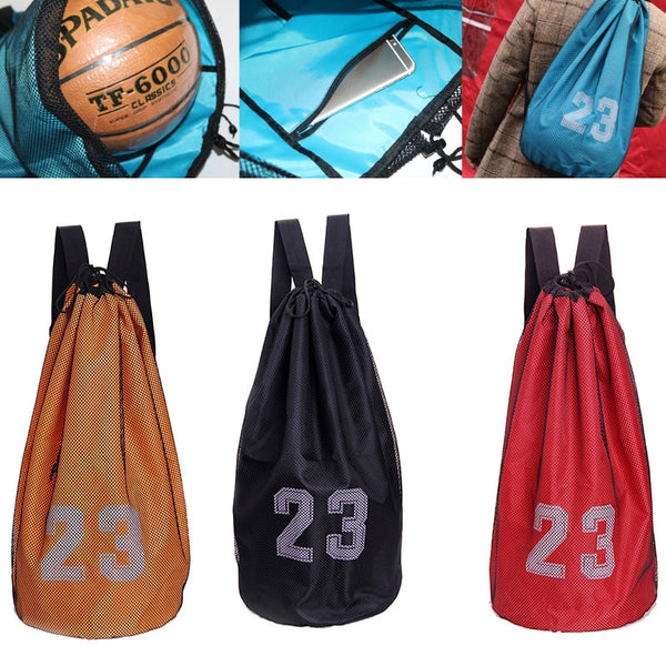 Basketball Bags For Basketball Football Soccer Volleyball Bag Outdoor Sport Fitness Storage Messenger Training Storage Bag
