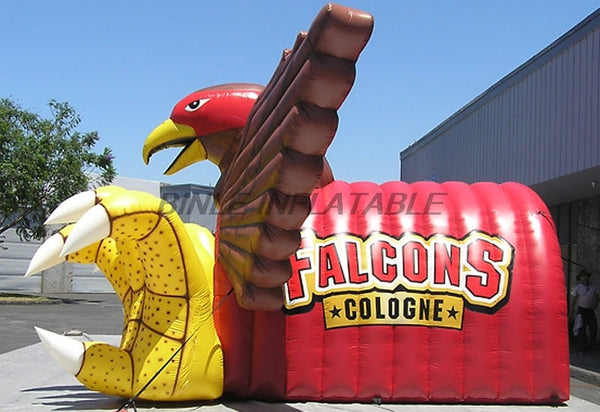 Hot Sell Eagle Inflatable Tunnel Tent Mascot Inflatable entrance Tunnel for NFL Football Game and Sports Events