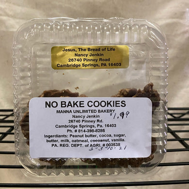 package of cookies on wire shelf