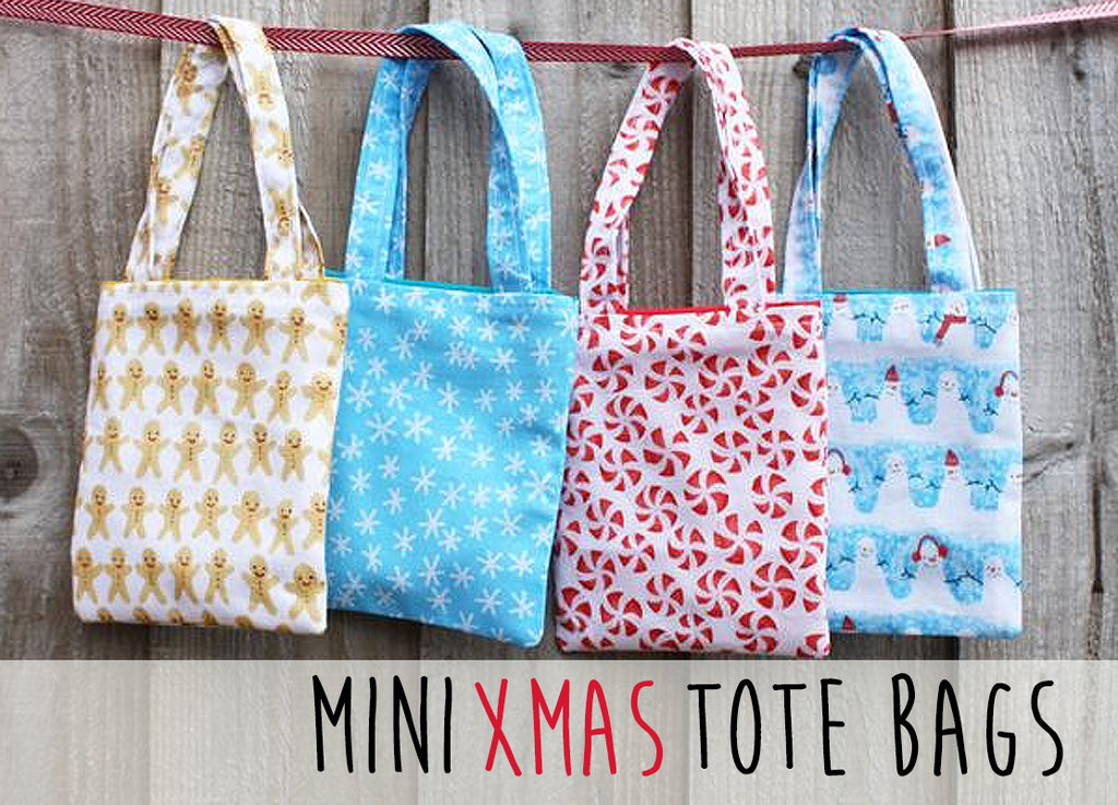 Mini Tote Bag Pattern