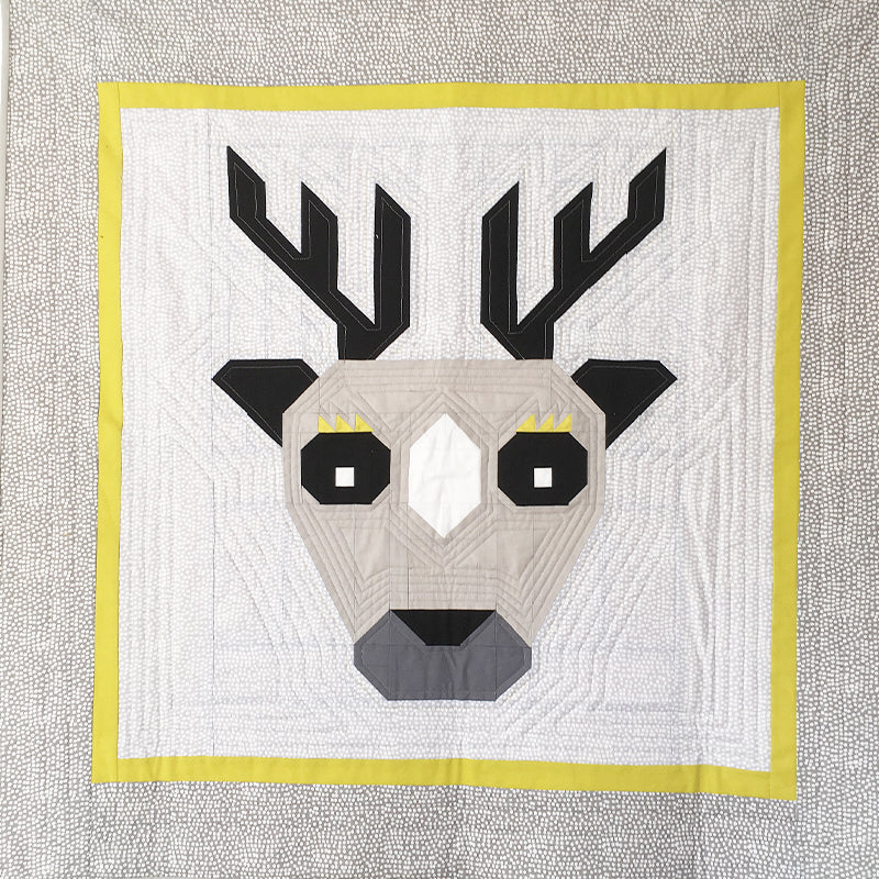 Epic Deer Baby Quilt Pattern