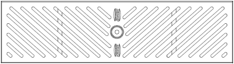"Zurn P6-SDD 6"" Wide Stainless Steel Diagonal Decorative Grate"