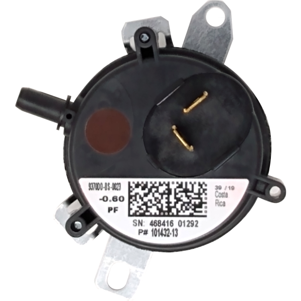 Lennox R101432-13 Pressure Switch (0.60 WC) Brown - Alternate / Replacement Part Numbers: 101432-13
