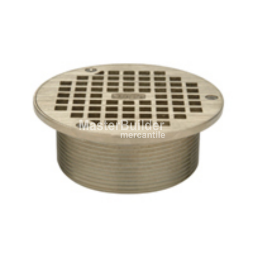 Zurn Z400B 'Type B' Series Round Floor Drain Strainer Assembly w/ Heel-Proof Square Openings