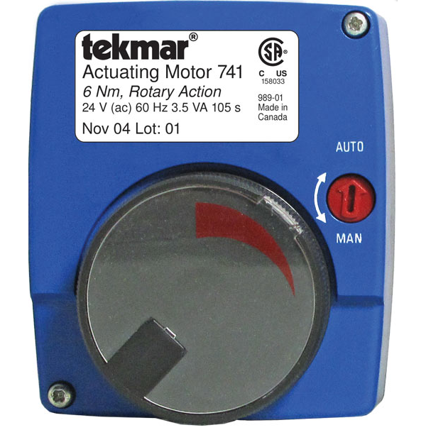 Tekmar 741 Actuating Motor Floating Action