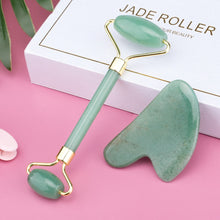 Load image into Gallery viewer, Face Massage Jade Roller