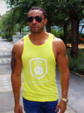 Robeaux Modal Tank Top Neon Yellow
