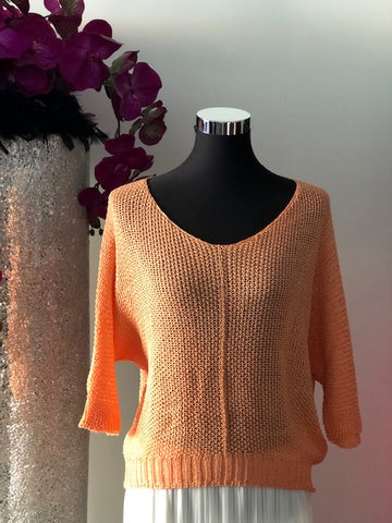 Light Coral Sweater