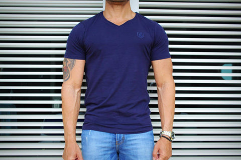 Robeaux Navy Blue T Shirt