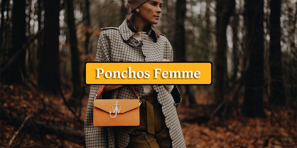 Collection Poncho femme