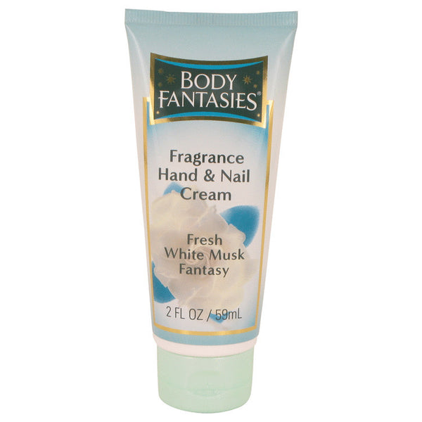 Body Fantasies Signature Fresh White Musk Hand & Nail Cream By Parfums De Coeur For Women. 533932