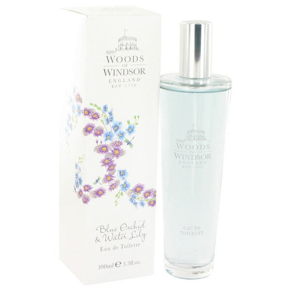 Blue Orchid & Water Lily Eau De Toilette Spray By Woods of Windsor For Women. 510938