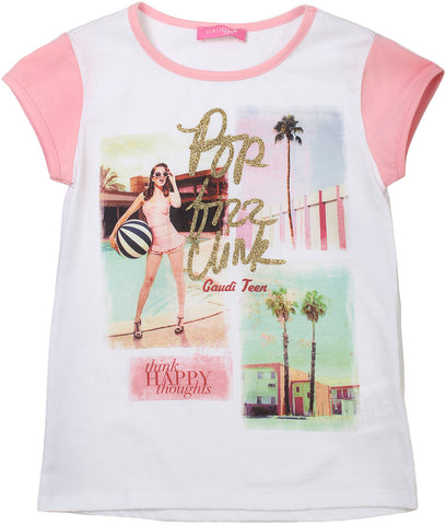 Gaudi t-shirt for girls. 73JD649231