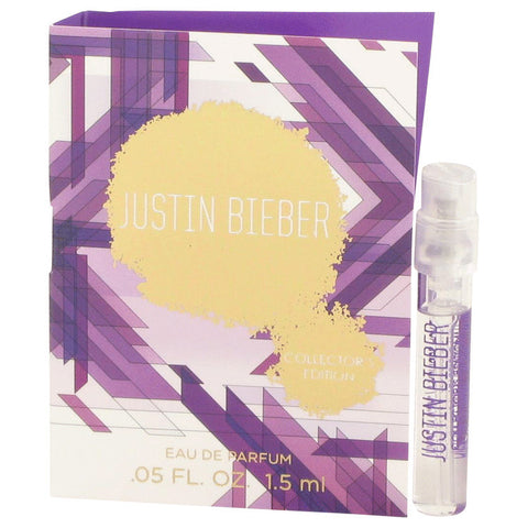 Justin Bieber Collector's Edition Vial (Sample) By Justin Bieber For Women. 527853