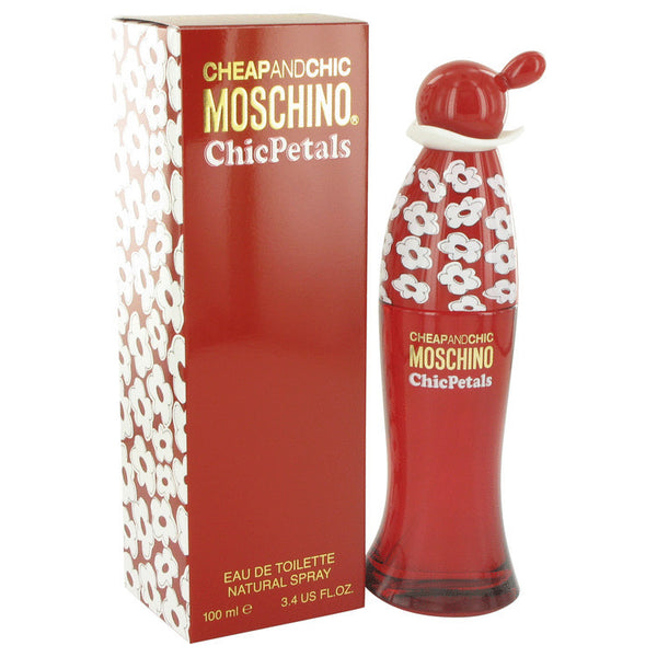 Cheap & Chic Petals Eau De Toilette Spray By Moschino For Women. 513022