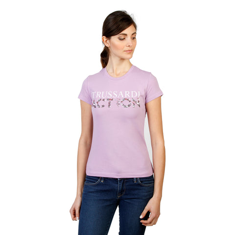 Trussardi Woman's T-shirt Crew-Neck. 2BT03B_LAVANDA_27