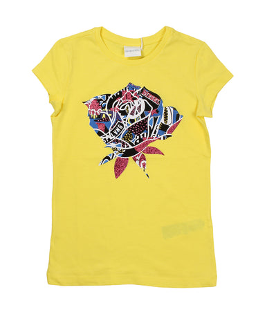 diesel t-shirt for girls. 52466_die_00j2ac00yi9k20a_giallo