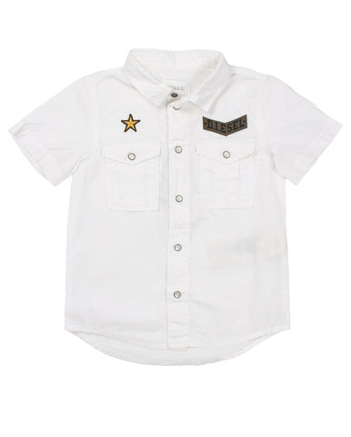 diesel shirt for boys. 52499_die_00k0zykxaxbk100_bianco