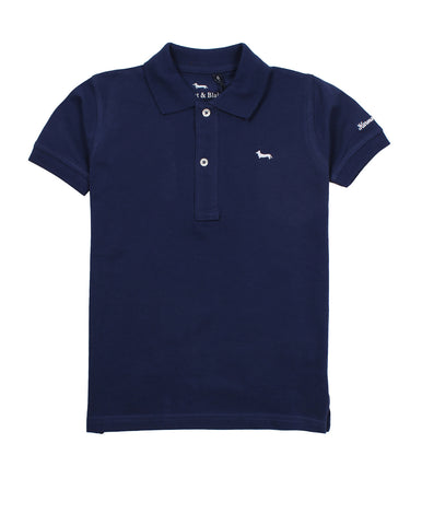 harmont & blaine polo for boys. 54331_hb_24sjl016_30_blu