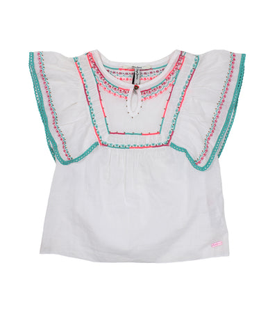Pepe Jeans Tunic For Girls. pjpg300411_800_bianco_220391