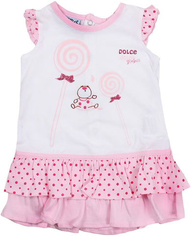 bimbus dress for baby girls. 56872_141ICIM002901