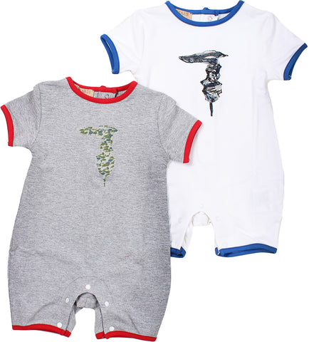 Trussardi Onesie For Baby Boys. 1601947001066860099
