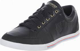 K-Swiss Match Court Black Sneakers