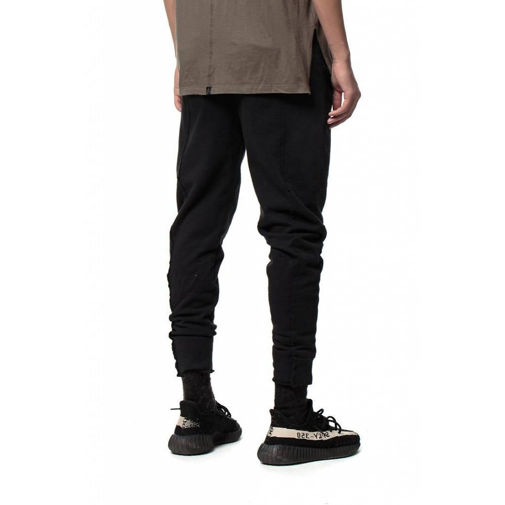 KUL-FTJ1811 Pintuck Sweatpants Black