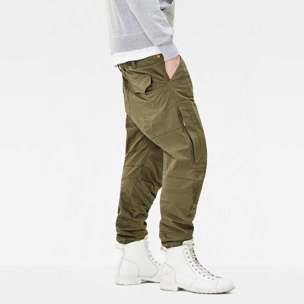 Rackam Tapered Cargo Pants Dark Shamrock