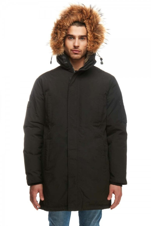 ARCTIC NORTH MENS MONT BROMONT PARKA WINTER JACKET