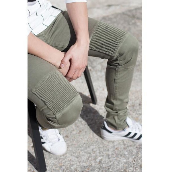 Men's Sixth June Green Army Jeans