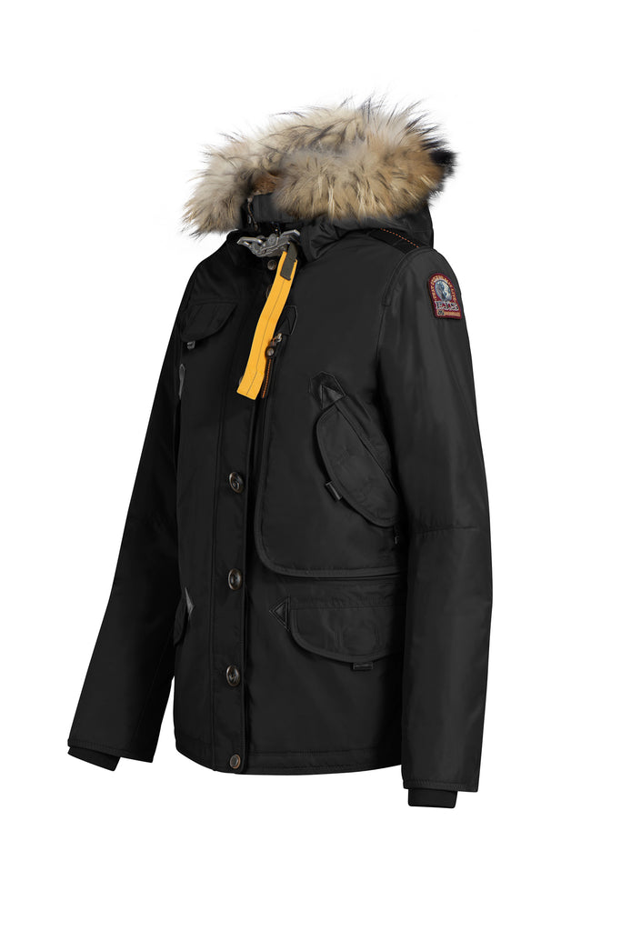 PARAJUMPERS WOMENS DORIS JACKET BLACK