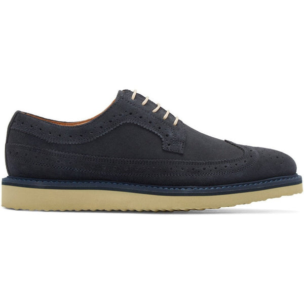 Men's Tiger of Sweden Navy Suede Charly Brogues