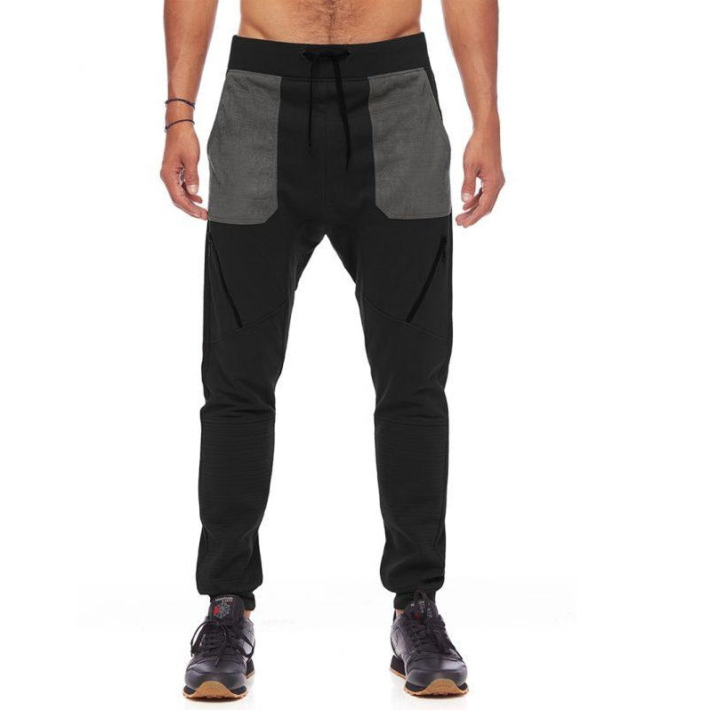 Suede Z-Jogger Pants Black